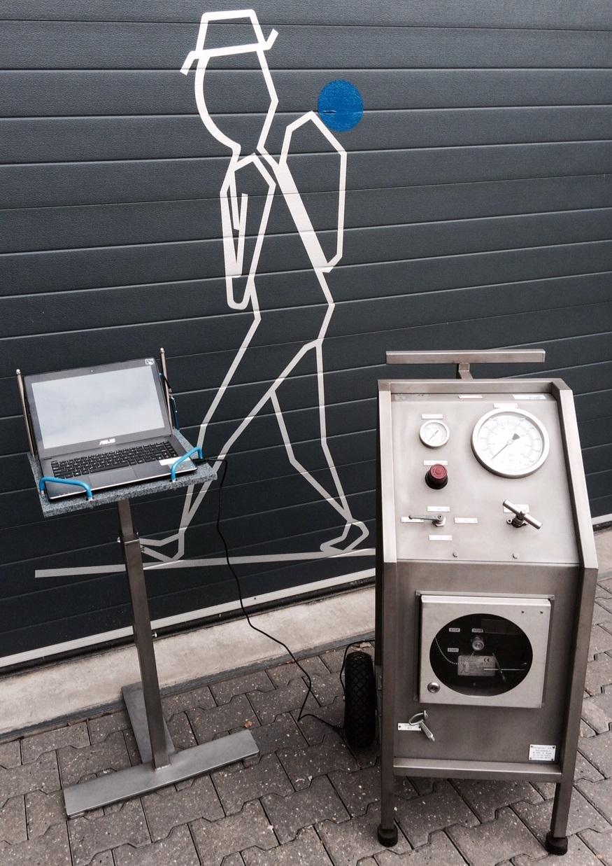 Backpacker Pumps. Rental - Digital Pressure Recorder